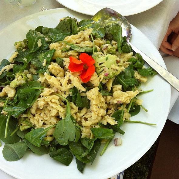 Cold Spaetzel Salad @ Fabulous Catering