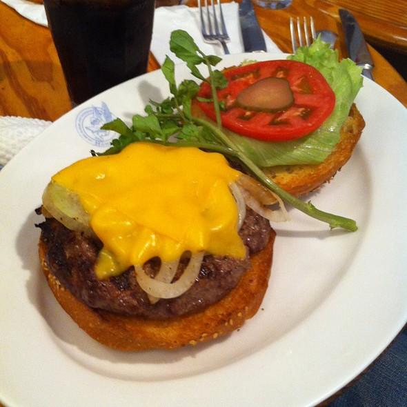 Sauteed Onion And Cheese Burger