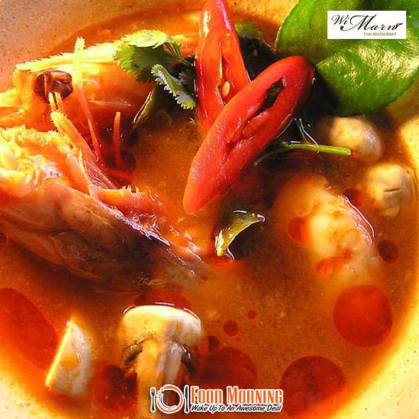Tom Yum Goong @ Wi Marn Thai Restaurant