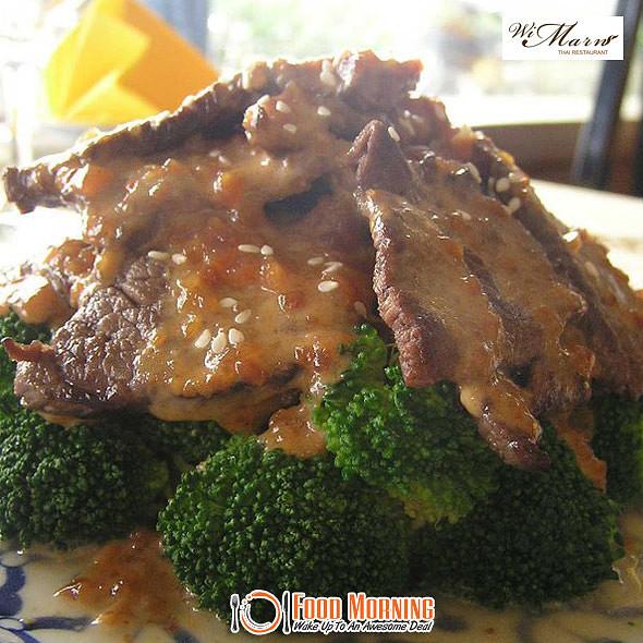 Beef in Peanut Sauce @ Wi Marn Thai Restaurant