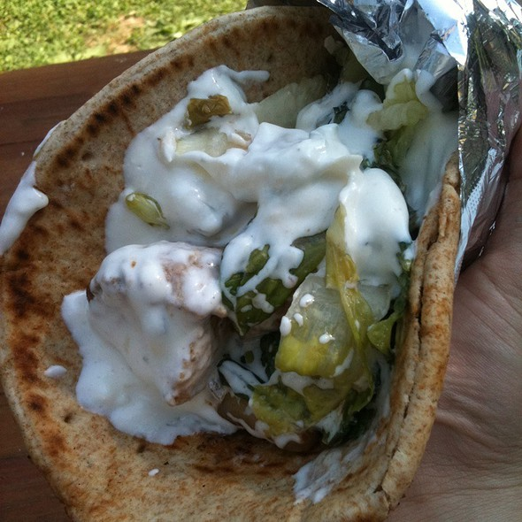 Chicken Gyro @ Woodland Arts Fair