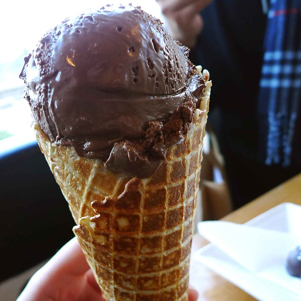 Chocolate ice cream @ Patagonia Chocolates