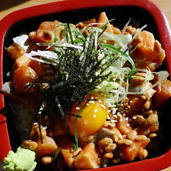 Natto Salmon Don @ Kohan Japanese Restaurant