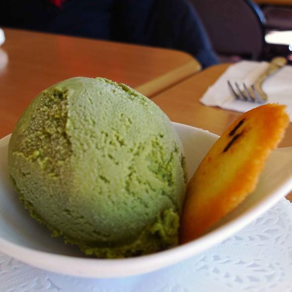 Green Tea Ice Cream @ Kohan Japanese Restaurant