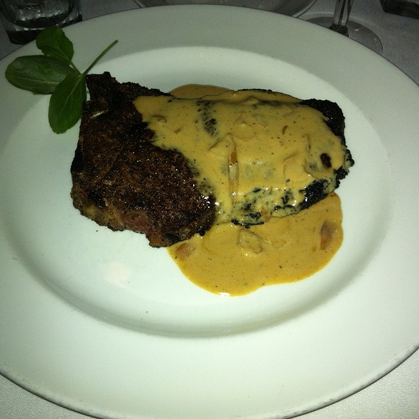 14 Oz. Kona Crusted Dry Aged Sirloin @ The Capital Grille