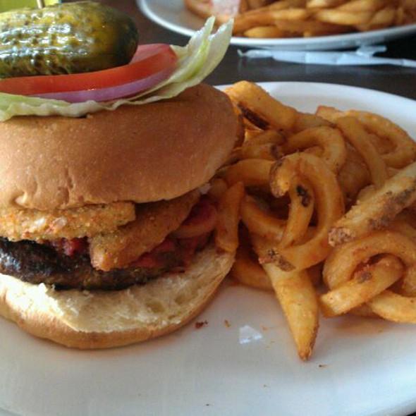 Mozzarella Cheese Stick Burger @ Rivers Casino