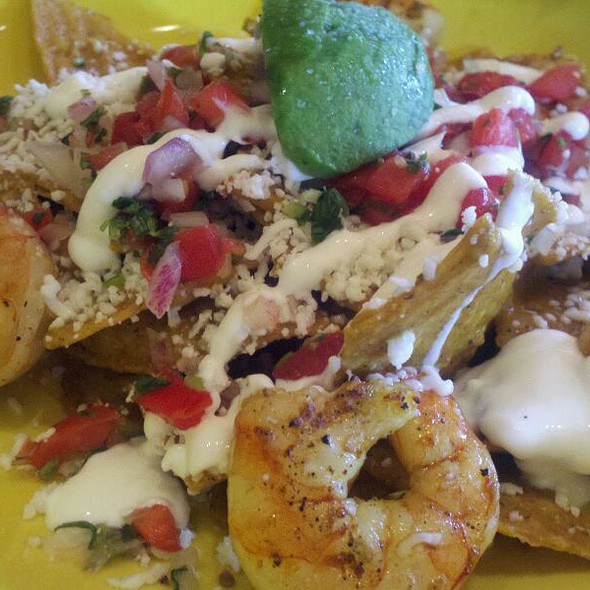 Shrimp Chilaquiles  @ El Centro