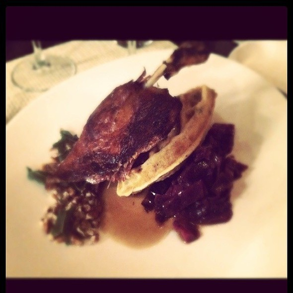duck and waffles @ Supper