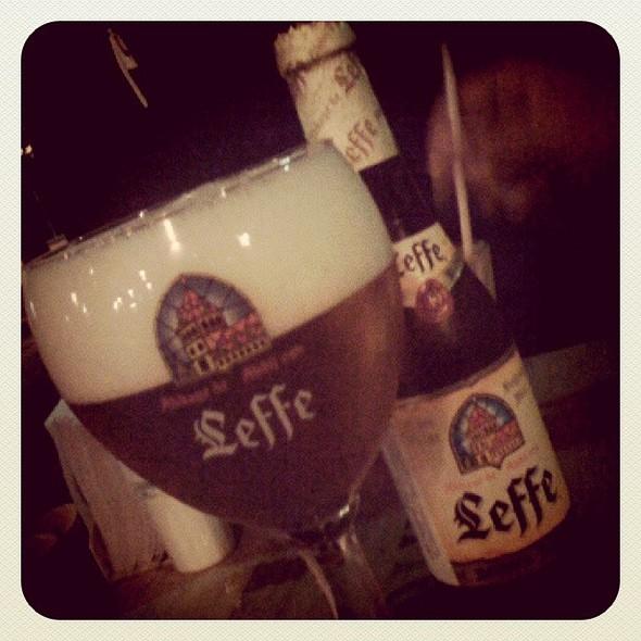 Leffe Blonde Belgian Beer @ Assembléia Bar