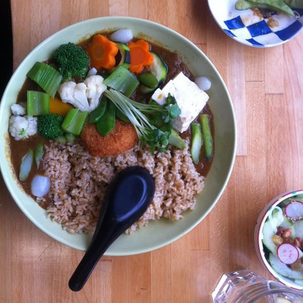 Curry @ Cha-Ya Vegetarian Japanese Restaurant