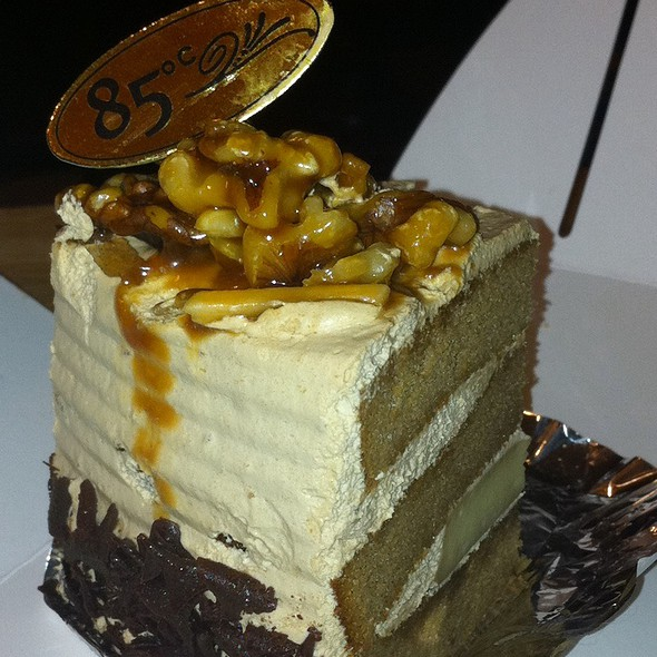 Coffee Creme Brulee Cake @ 85 Degrees