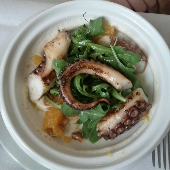 Octopus a la Plancha @ Boulud Sud