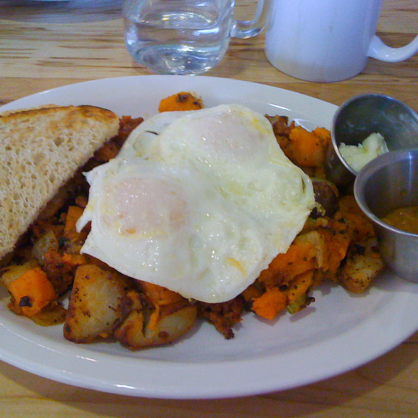 Sweet Potato Hash @ Jelly