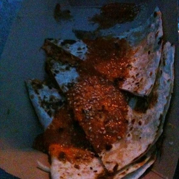 Kimchi Quesadilla @ Kogi BBQ Truck