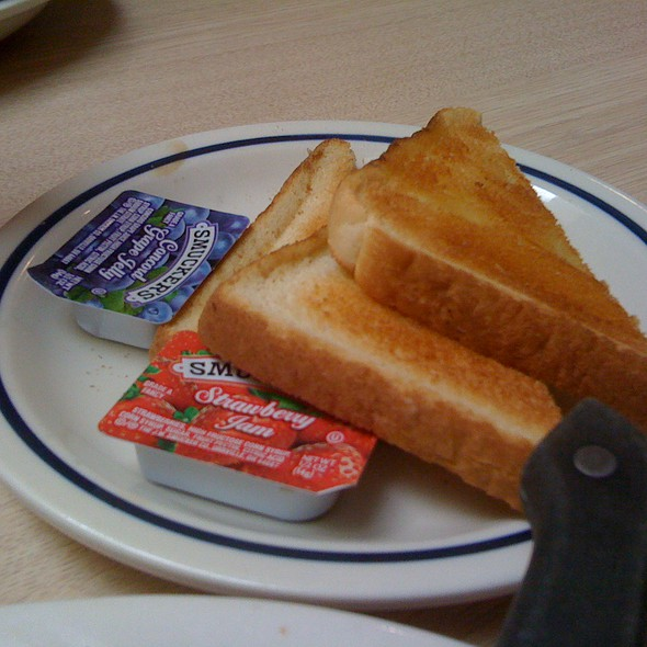 White Toast & Jam