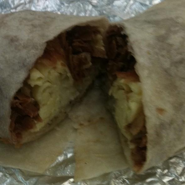 Breakfast Burrito @ Burrito Beach, O'Hare (K Concourse)