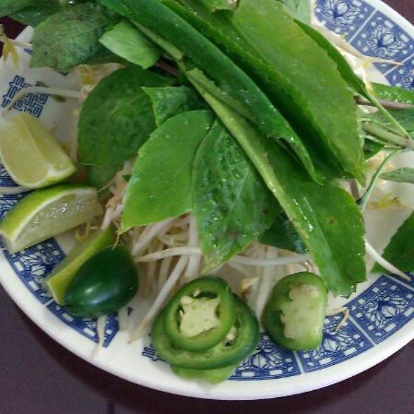 Fresh Basils @ Pho 88 Noodle