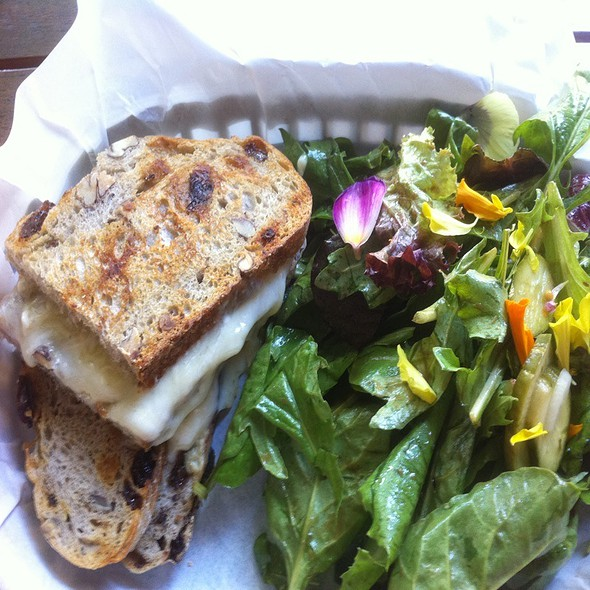 Grilled Cheese Sandwich @ Cafe Surfas