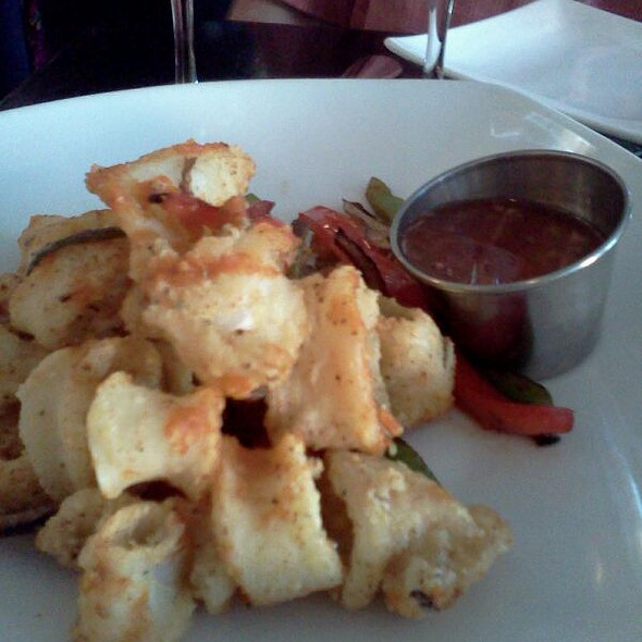 Wok Spiced Calamari @ Teak Restaurant