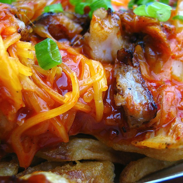 Kimchi Pork Fries