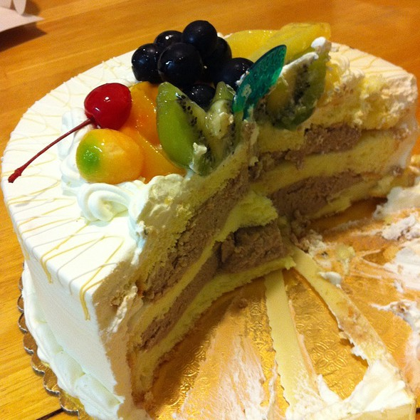 Chestnut Cake @ 99 Ranch Market