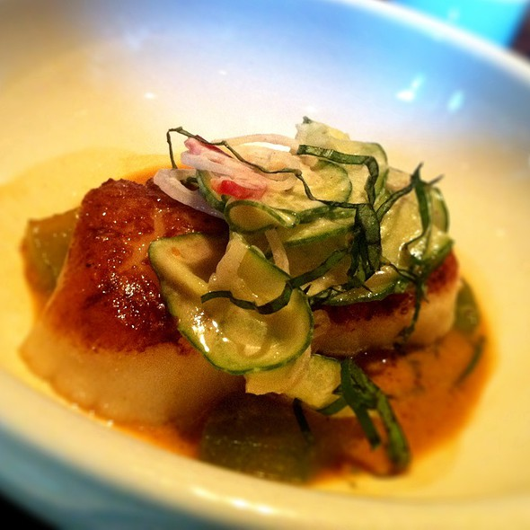 Seared Scallops @ The Girl And The Goat