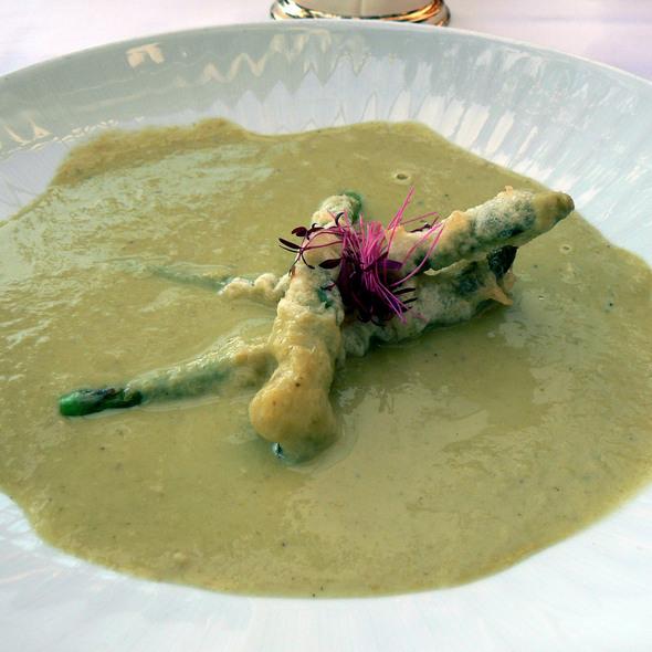 Asparagus Soup - Nick's Fishmarket Maui, Wailea, HI