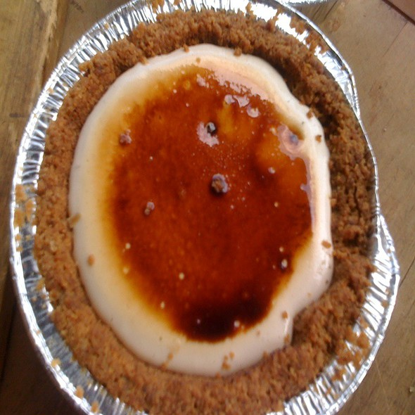 Cheesecake Pie @ Pie Corps, New Amsterdam Market