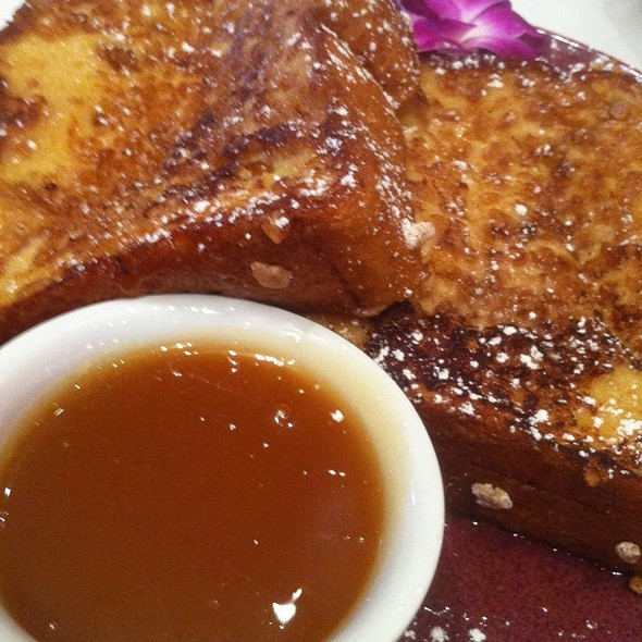 Crunchy French Toast @ Norma's at Le Parker Meridien Hotel
