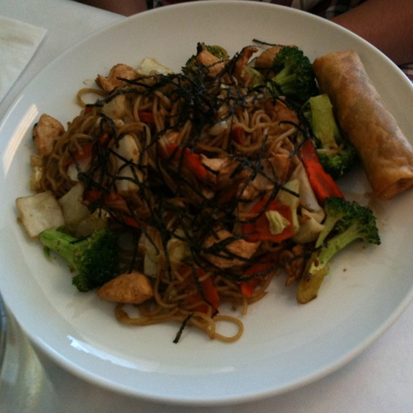Yakisoba Noodles With Chicken @ Umami