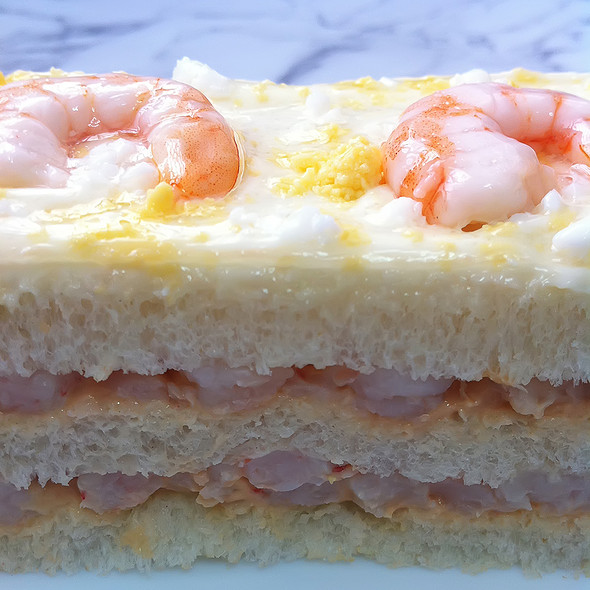 Shrimp Sandwich @ Hipercor
