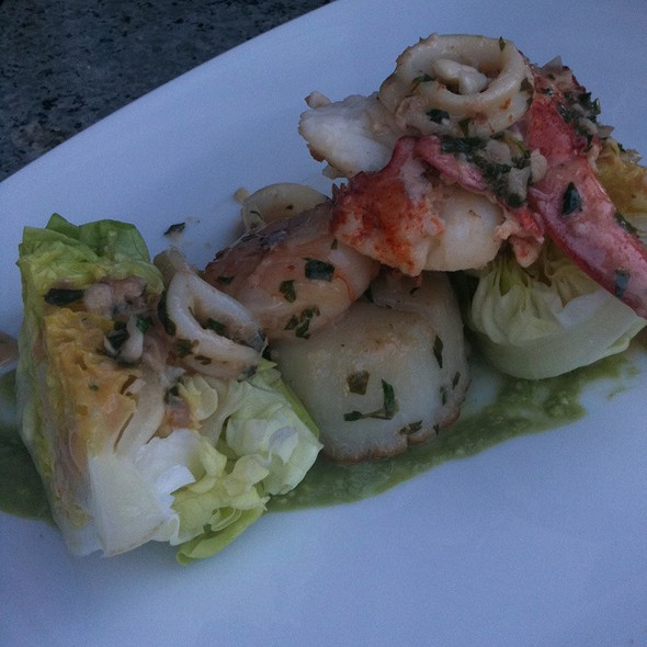 Seafood Salad - THE Blvd - Beverly Wilshire Hotel, Beverly Hills, CA