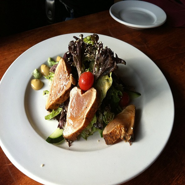Spicy Albacore Tuna Salad - 21 Steps Kitchen + Bar, Whistler, BC