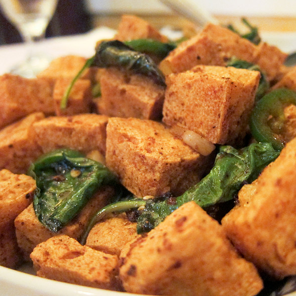 Salt & Pepper Stinky Tofu @ Spices
