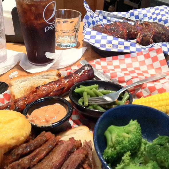 Two-Meat Bbq Combo @ Famous Dave's BBQ