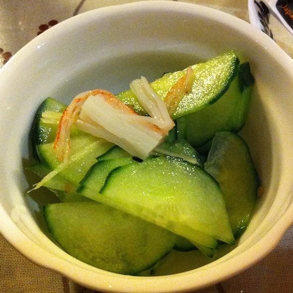Pickled Cucumber @ Zen Toro Japanese Bistro