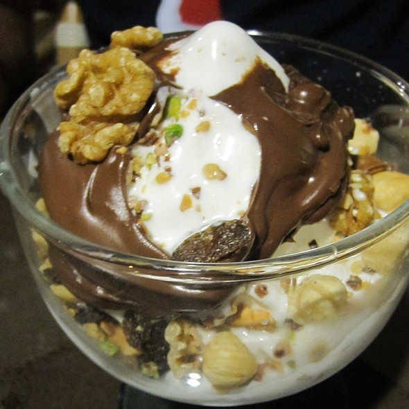 Soft Serve With Nutella & Nuts @ Gelateria Adler Snc Riccione - Di Fabbri Fabio & C