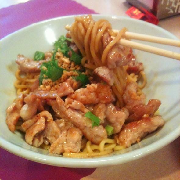Yamo House Noodles, Pork @ Yamo