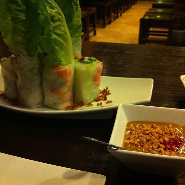 Vietnamese Fresh Spring Rolls @ Pho Appetit