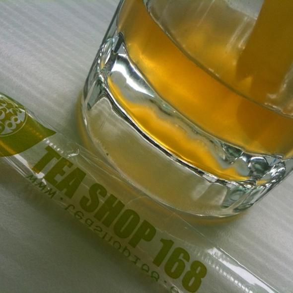 Mango Green Tea @ Tea Shop 168