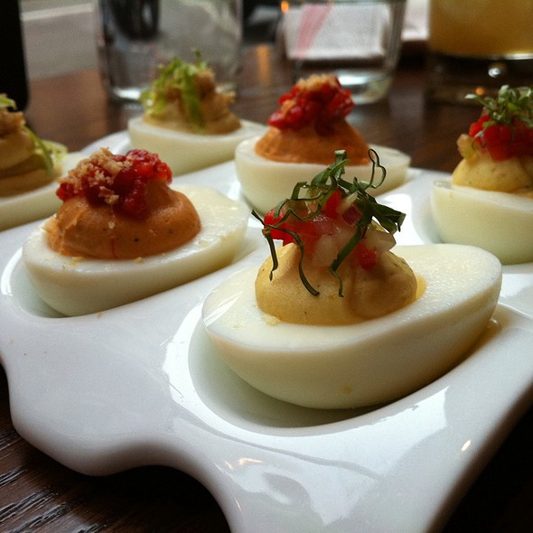 Deviled Egg Trio @ Jasper's Corner Tap & Kitchen