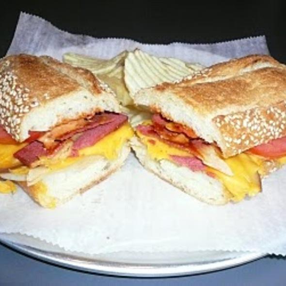 The Spicy Rizzak @ Tinys Giant Sandwich Shop