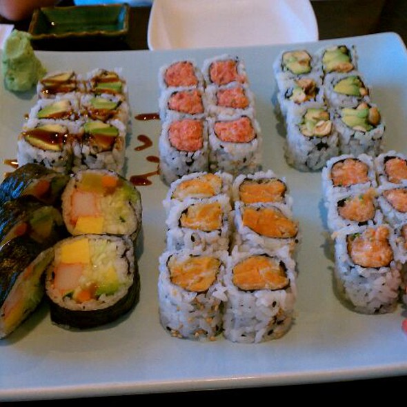 Assorted Sushi Rolls  @ Kumo Japanese Restaurant LLC