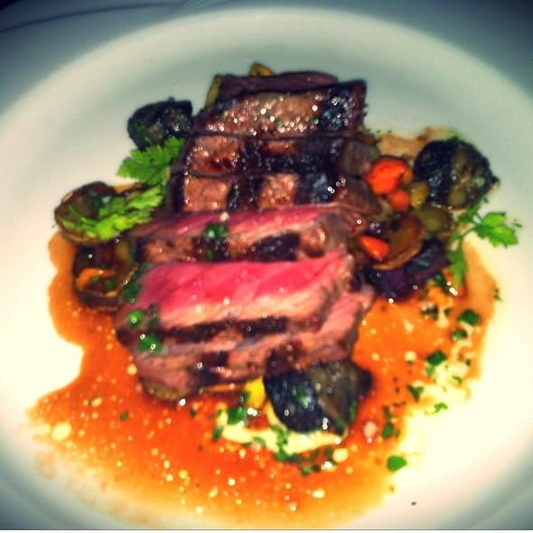 Vintage Beef Strip Loin @ Sax Restaurant & Lounge