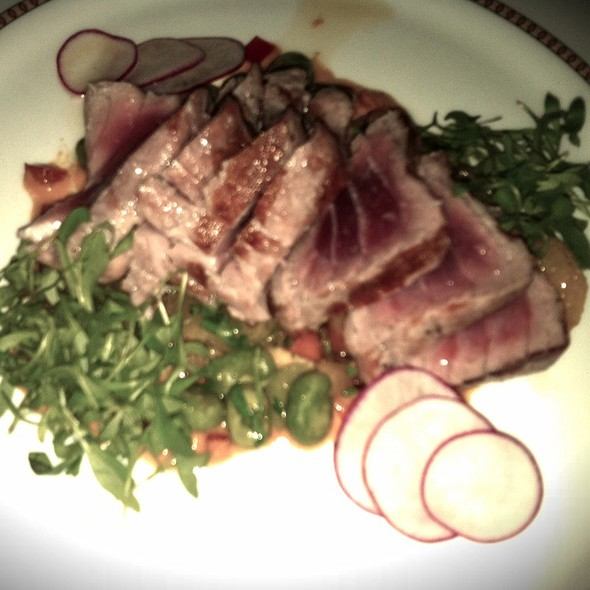 Yellowfin Tuna @ Sax Restaurant & Lounge