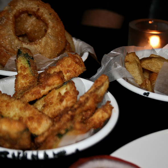 Courgette Fries @ Byron