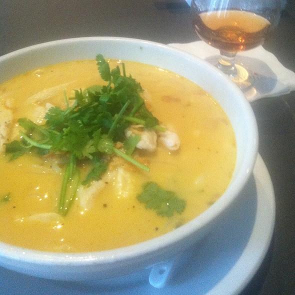 Spicy Coconut Milk Soup W/ Chicken @ Republic Restaurant