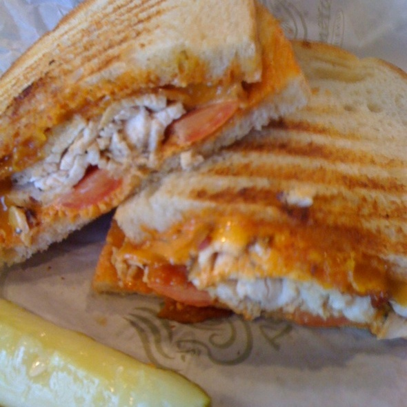 chicken panini @ Panera Bread