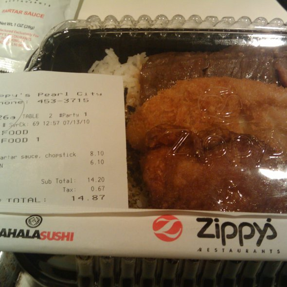 Zip Pack @ Zippy's Makiki