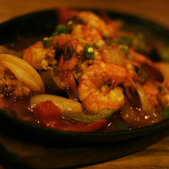 Gambas Al Ajillo At Patio Filipino